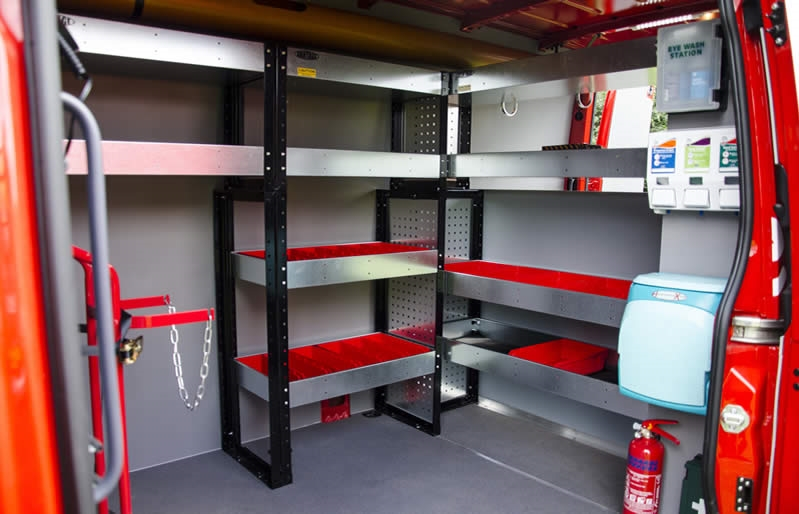 vehicle-shelving